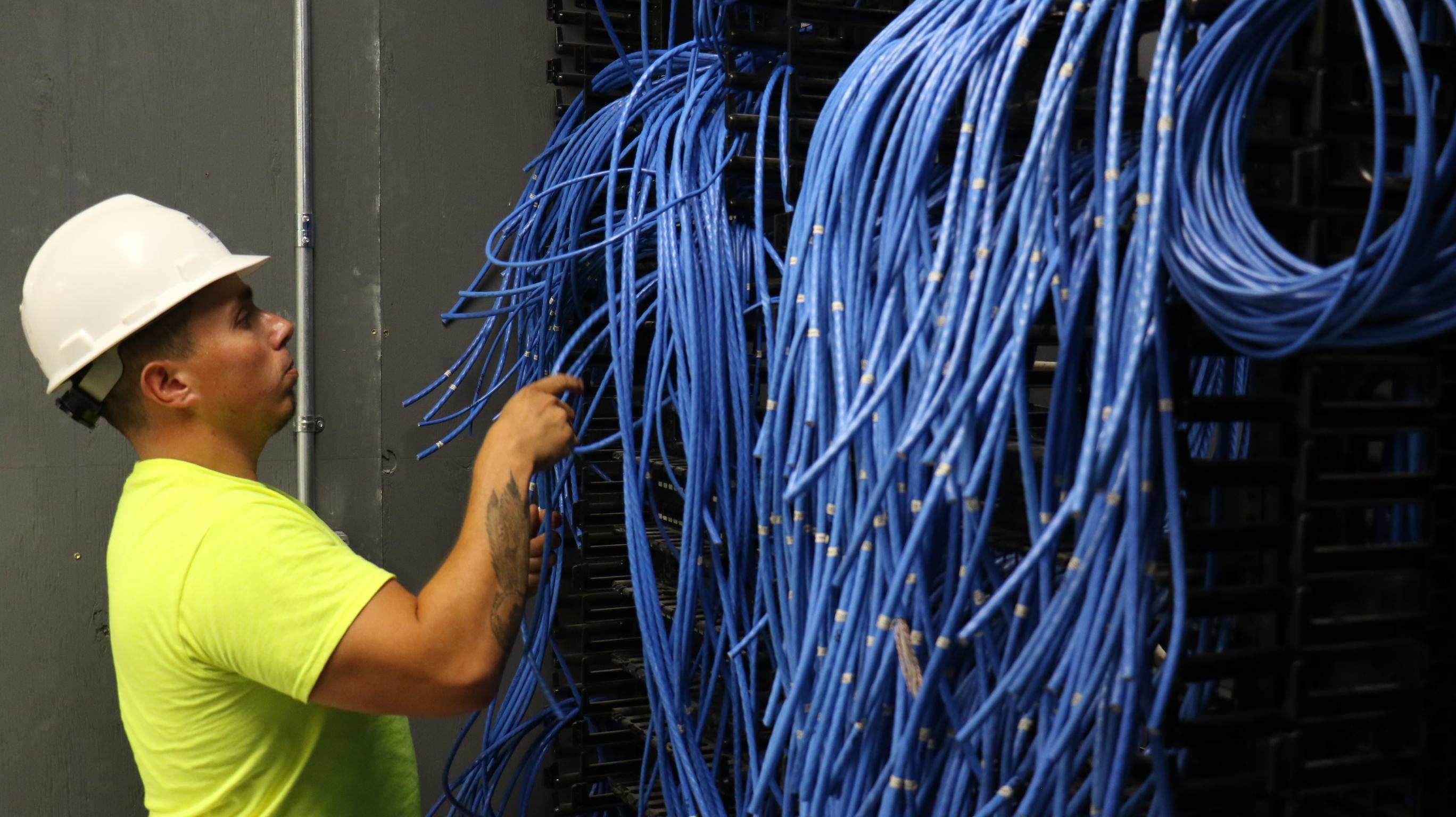 St. Regis Mohawk Tribe Admin Building - Network Communication Design & Cabling