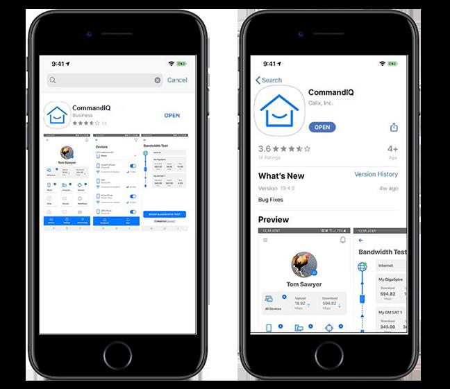 CommandIQ App Download
